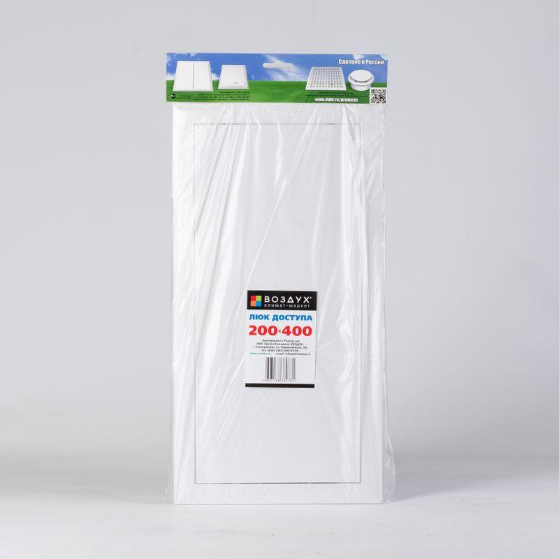 Лючок Д 200*400мм пластик