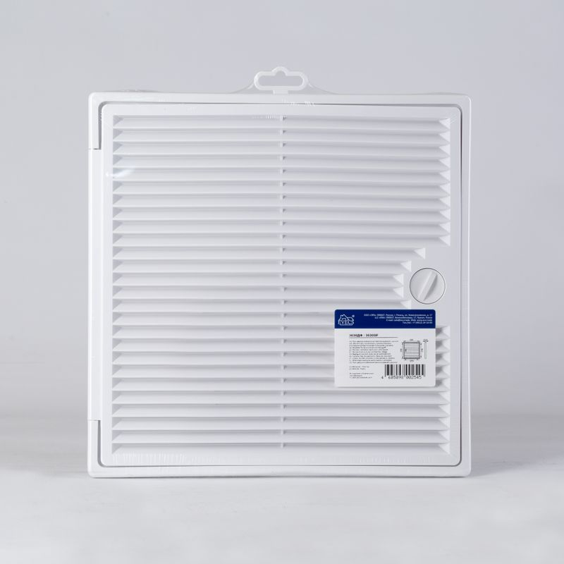 Решетка вентиляционная 300*300мм Декофорт 3030 ДФ Эковент