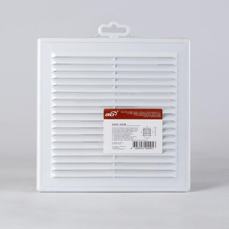 Решетка вентиляционная 208*208мм накл. 2121Р Эковент