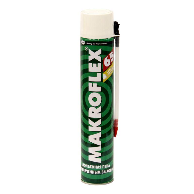 Пена монтажная Makroflex 65 бытовая, 750 мл фото