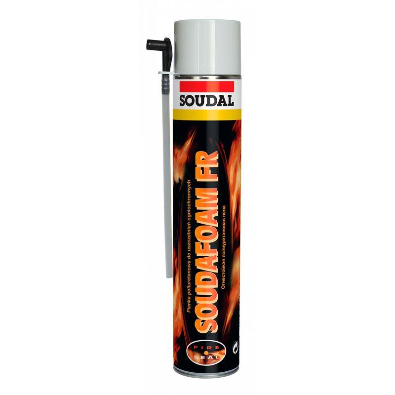 Купить со скидкой Пена монтажная огнеупорная SOUDAL бытовая, 750 мл