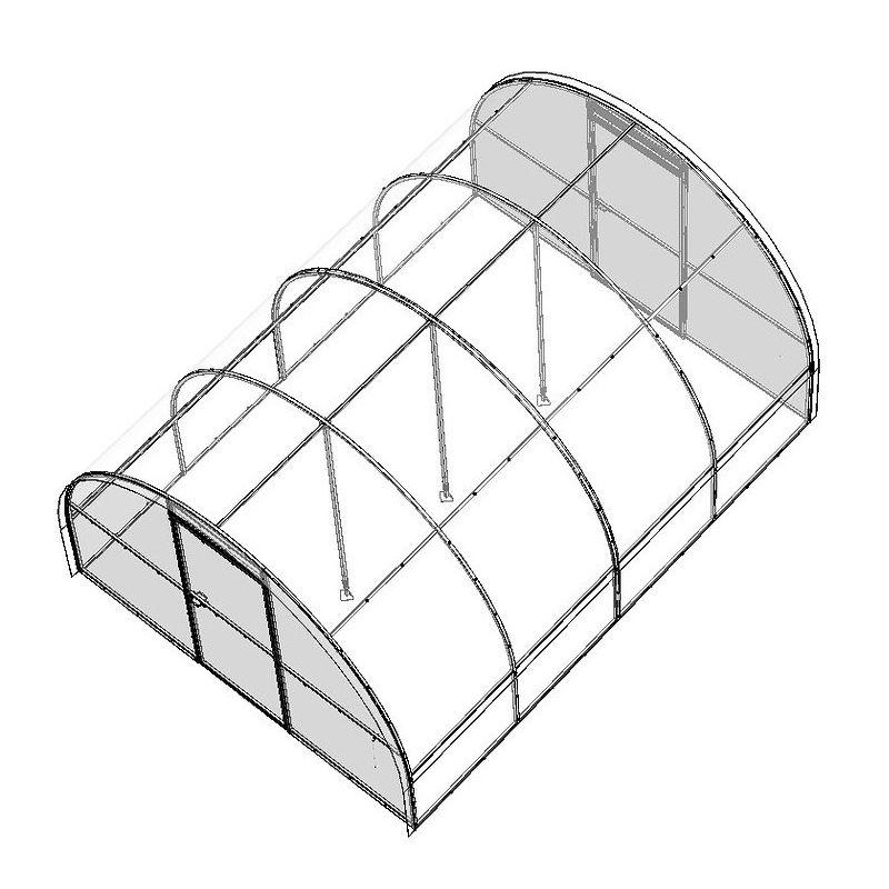 Фото #1: Усилитель каркаса Набор для усиления теплицы Бетта Воля