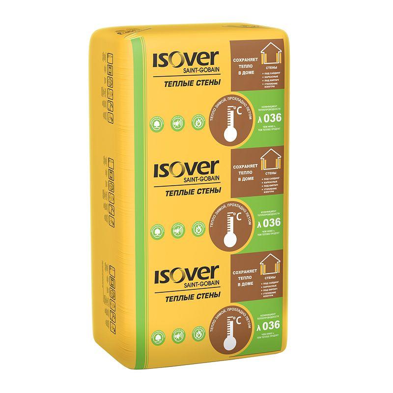 Утеплитель ISOVER Теплые стены 1170х610х50 мм 14 штук в упаковке фото
