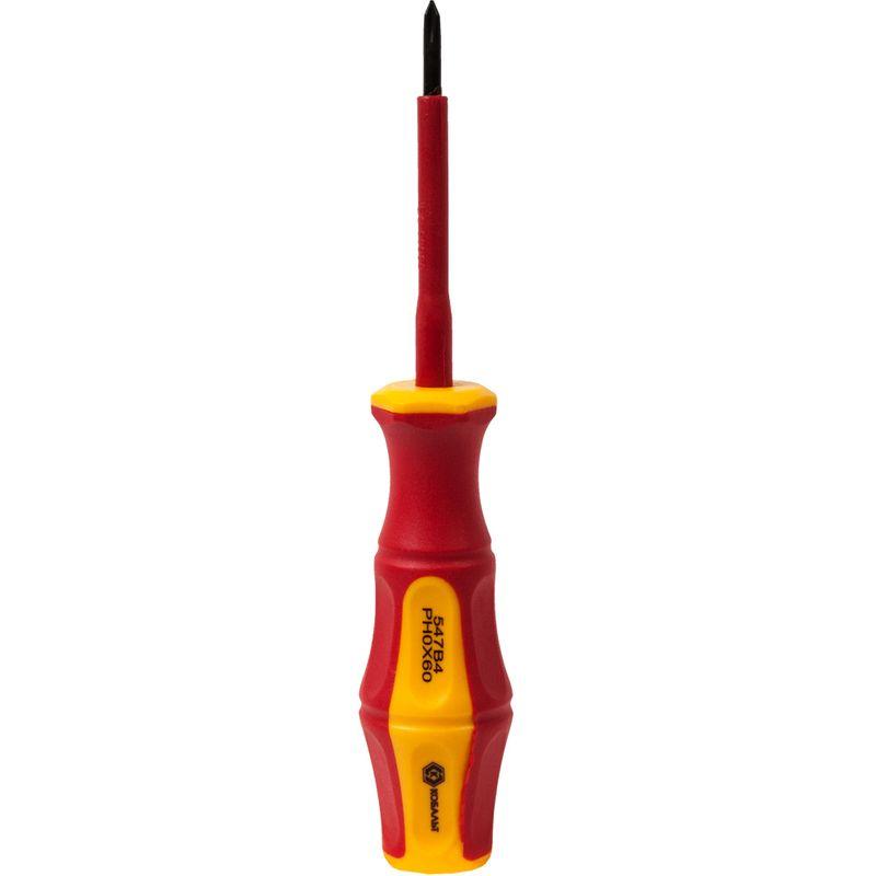 Отвертка крестовая Topex, PH №0, 60 мм Тамбовка инструменты купить