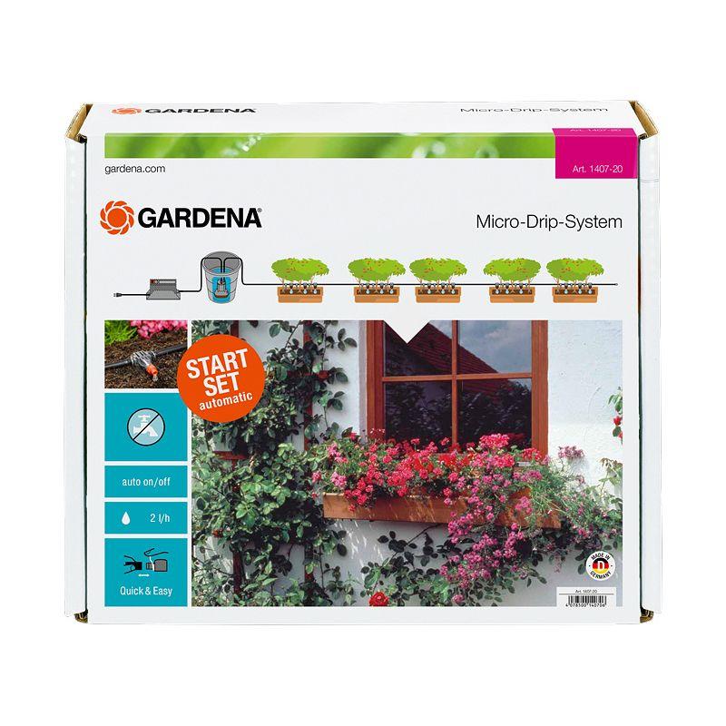 Система микрокапельного полива горшечных растений арт 1407 Gardena фото