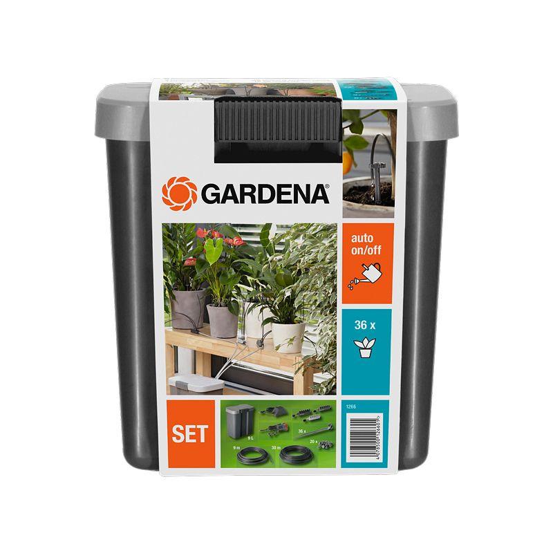 Комплект для полива в выходные дни с емкостью 9 л арт 1266 Gardena фото