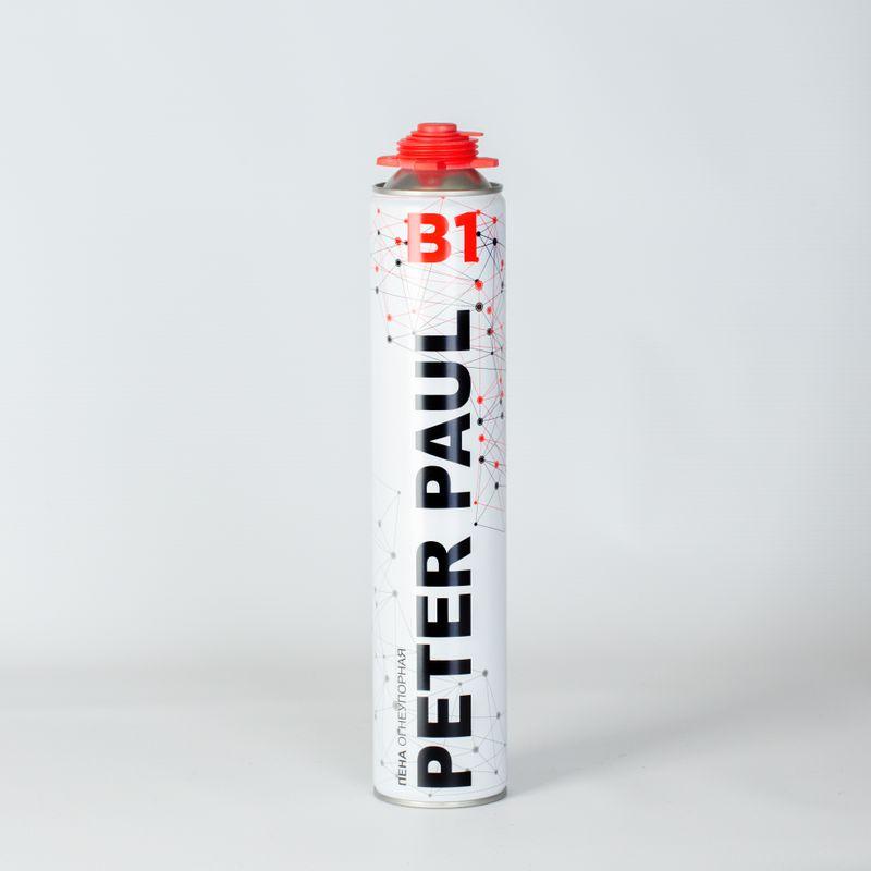 Пена монтажная огнеупорная Peter Paul В1 профессиональная, 750 мл фото