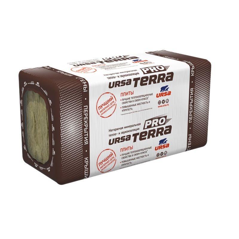 Утеплитель URSA TERRA 34PN PRO 1250х610х100 мм 12 штук в упаковке фото