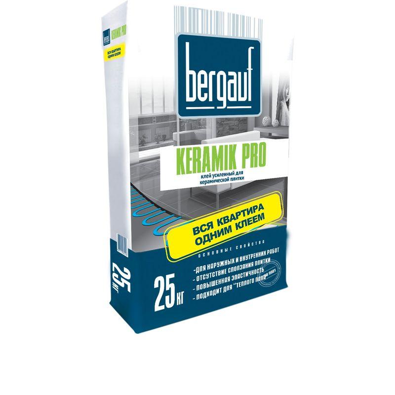 Клей для плитки Bergauf Keramik Pro