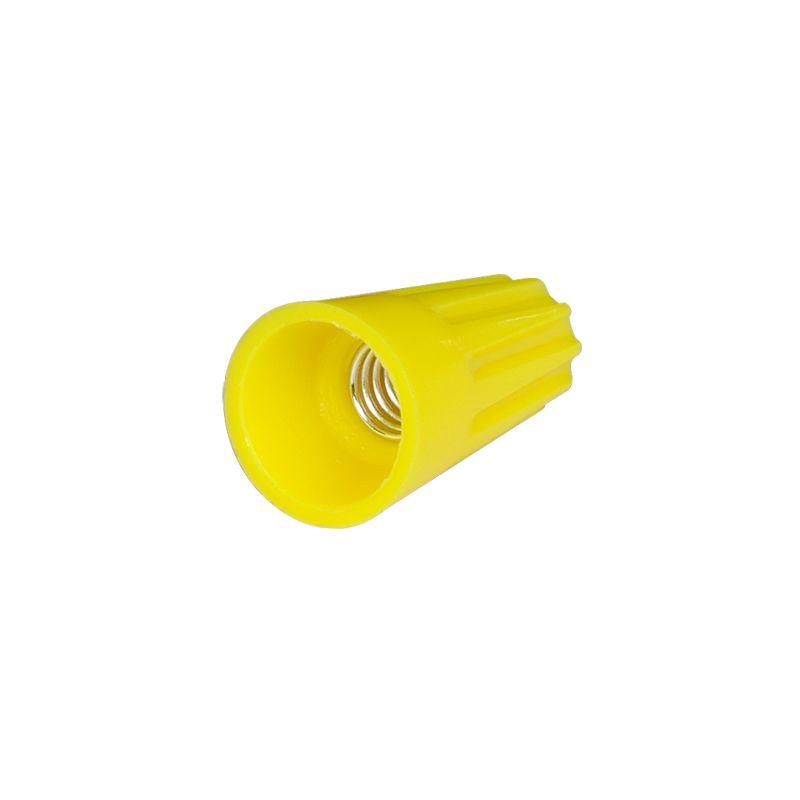 Соединительный изолирующий зажим СИЗ-4 желтый фото