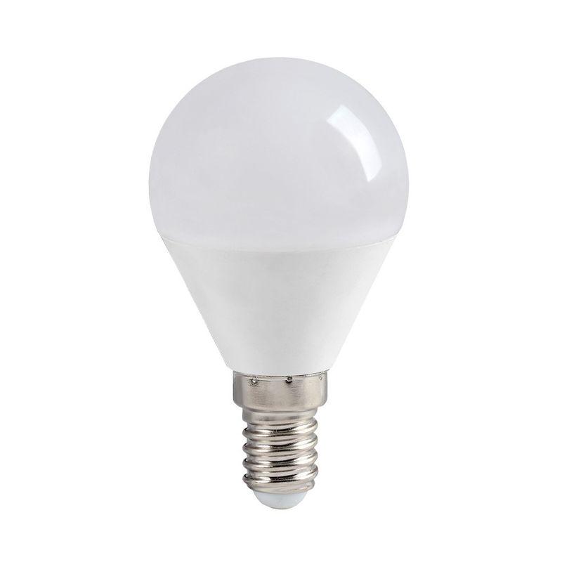 Лампа светодиодная ECO G45 шар 7Вт, холодный свет, E14 IEK