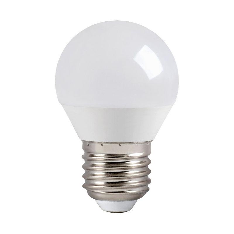 Лампа светодиодная ECO G45 шар 7Вт, холодный свет, E27 IEK