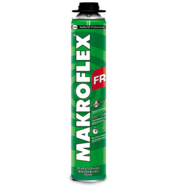 Купить со скидкой Пена монтажная огнеупорная Мakroflex FR77 профессиональная, 750 мл