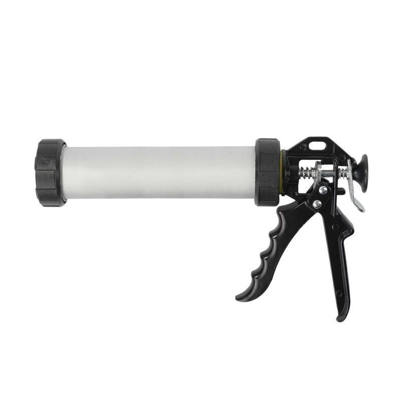Пистолет для герметика STAYER PROFESSIONAL 0673-31 закрытый алюминиевый корпус 310мл фото