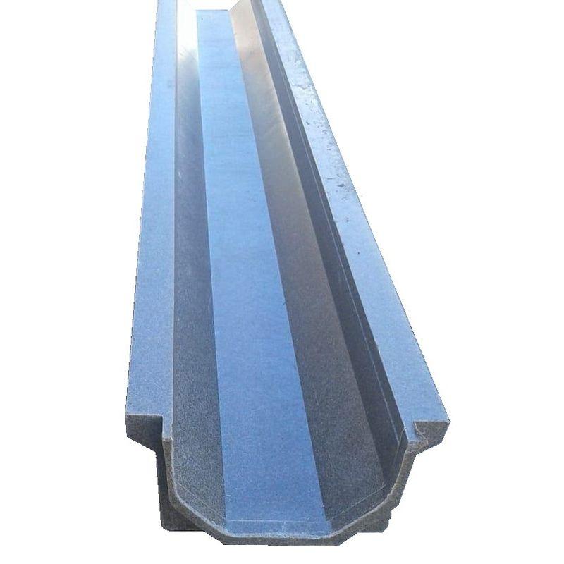 Канал водоотведения ППК DN100 A15; B125; C250 1000x140x70 мм, серый фото