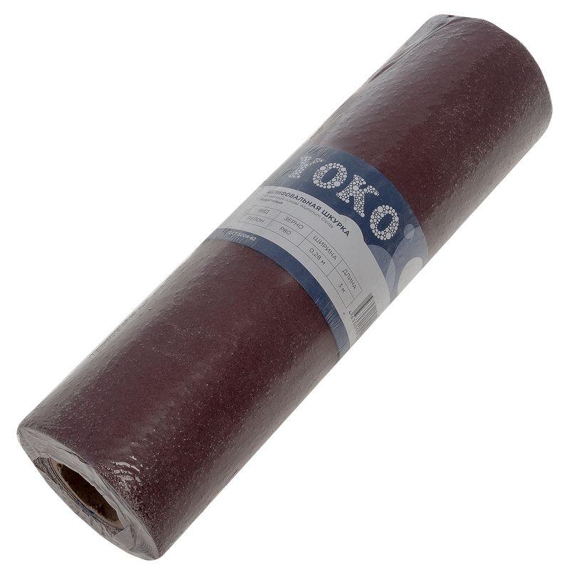 Шкурка Yoko Р80 на тканевой основе, 3000×280 мм фото