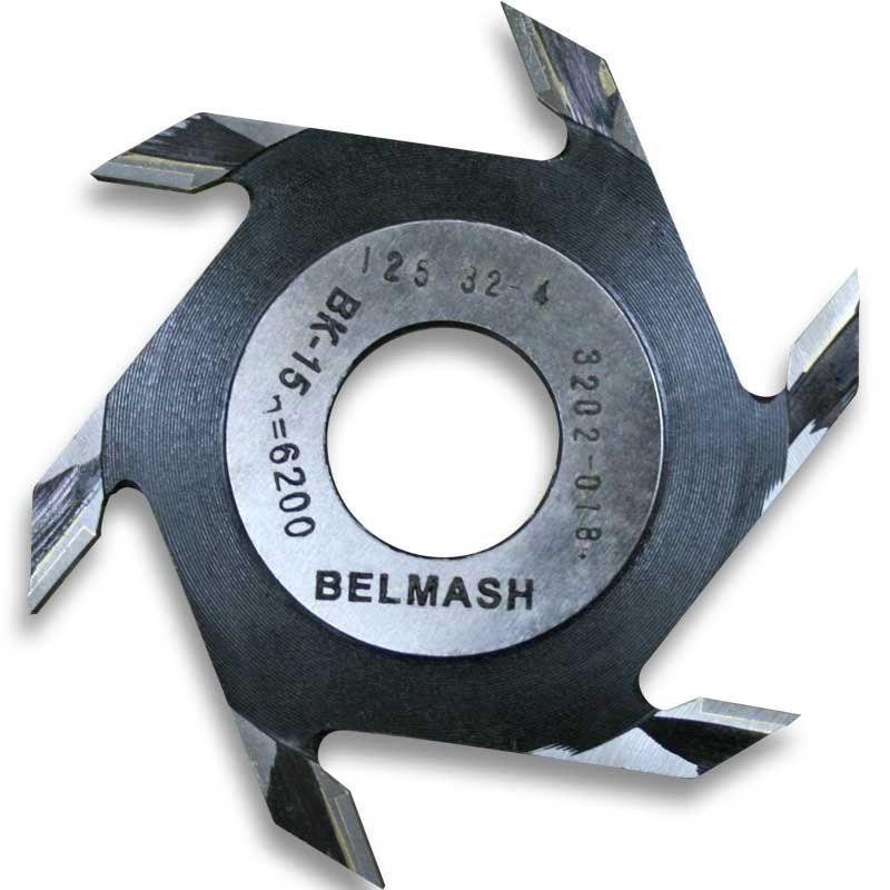 Фреза пазовая, БЕЛМАШ RF0011A 125х32х4 мм (Belmash) Моргауши купить инструмент в интернет магазине