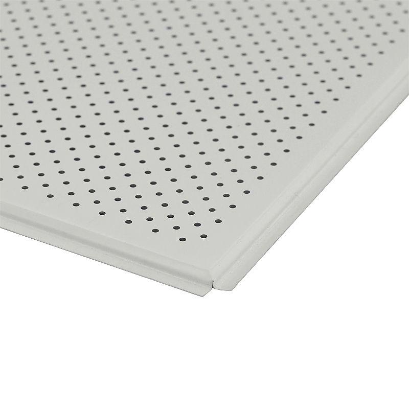 Панель потолочная AP600A6 белый мат. A903RUS01/F d=1,5 перф. (Албес) (36шт/уп) фото