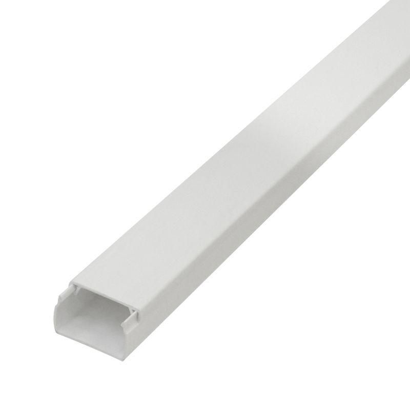 Кабель-канал белый 15x10 2 метра