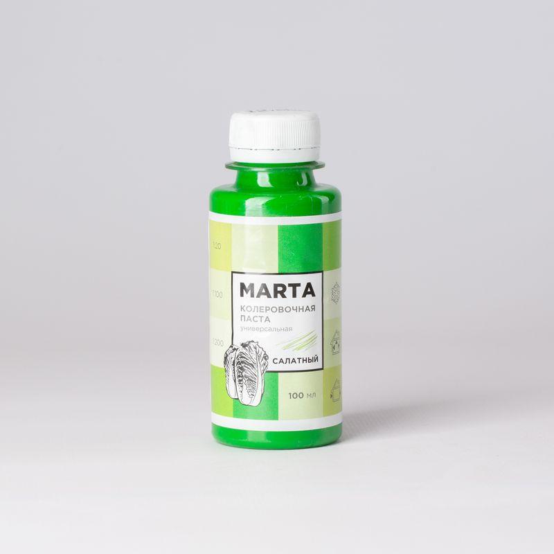 Колер MARTA №12 универсальный салатный, 100мл фото
