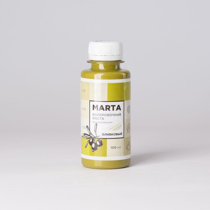 Колер MARTA №29 универсальный оливковый, 100мл