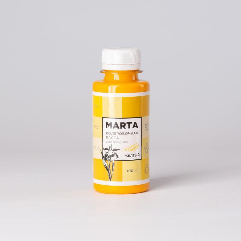 Колер MARTA №2 универсальный желтый, 100мл фото