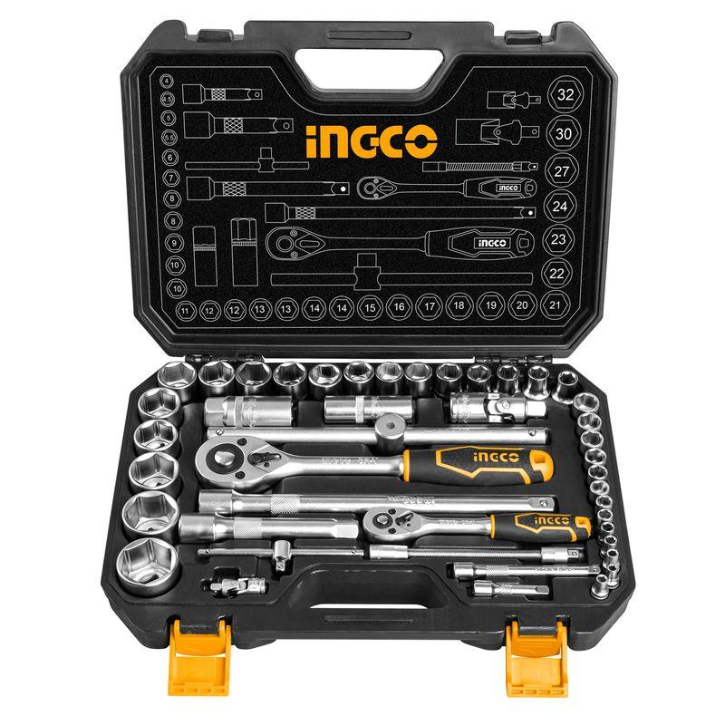 Набор инструментов Ingco Industrial HKTS42441, 44 предмета фото