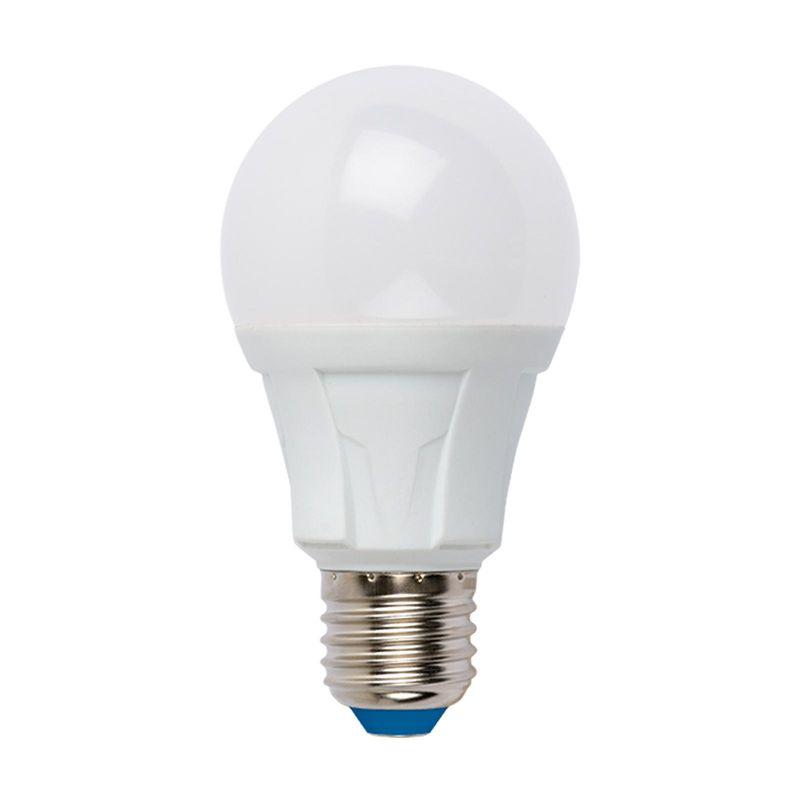 Купить Лампа светодиодная Uniel LED-A60 12W/NW/E27/FR PLP01WH Форма «А», матовая. Серия Яркая. Белый свет(4000K)