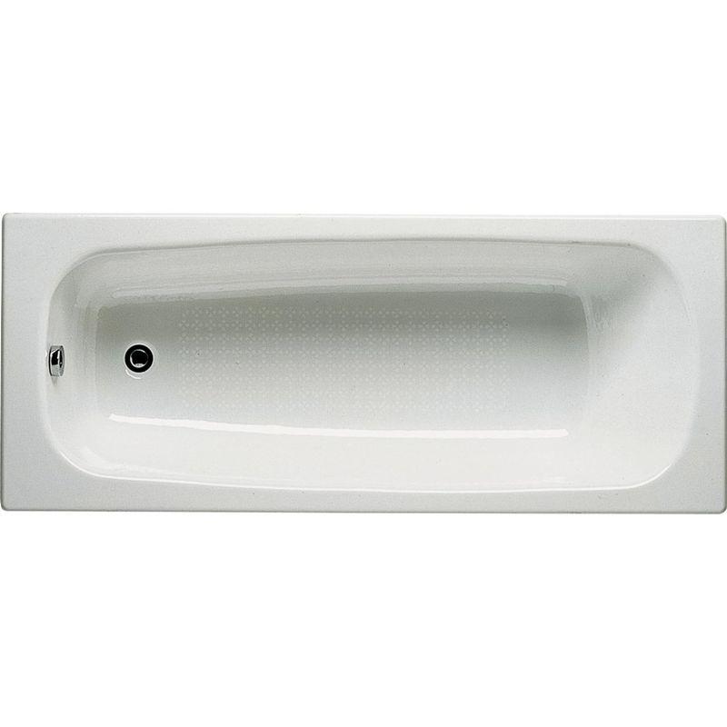 Купить Чугунная ванна Roca Continental 160х70 см без противоскользящего покрытия, Белый, 21290200r, Испания