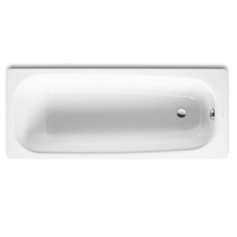 Купить Чугунная ванна Roca Continental 170х70 см без противоскользящего покрытия, Белый, 21290100r, Испания
