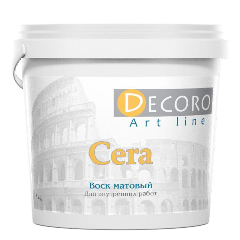Воск для фактурных покрытий Decoro Cera матовый, 1кг фото