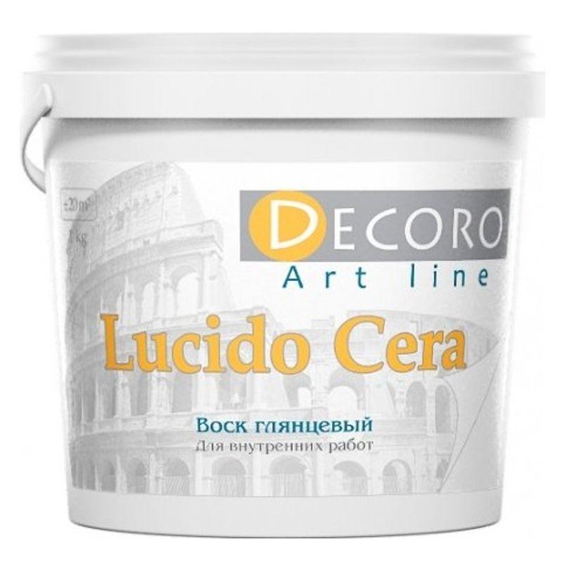 Воск для фактурных покрытий Decoro Lucido cera