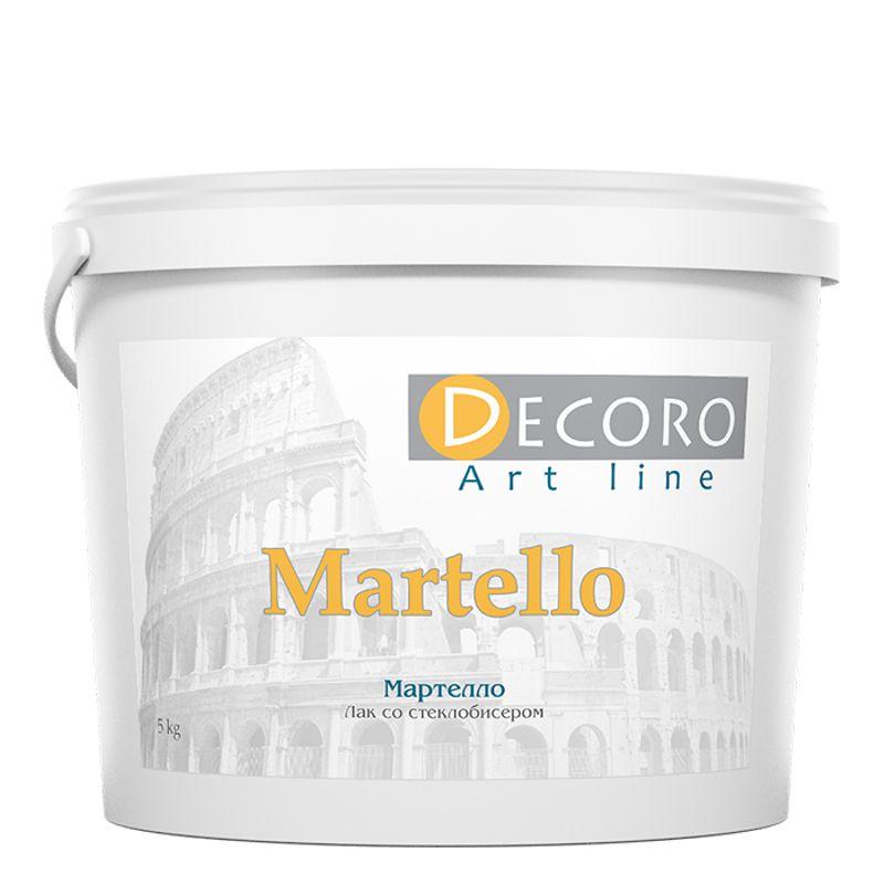 Лак со стеклобисером Decoro Martello, 1кг фото