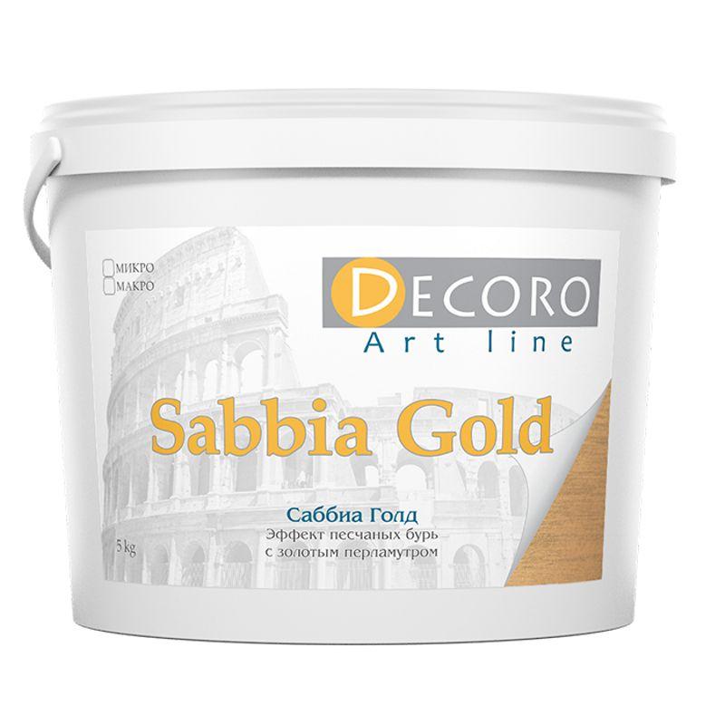 Краска перламутровая Decoro Sabbia Gold (эффект песчаных бурь), серебро, 1кг фото