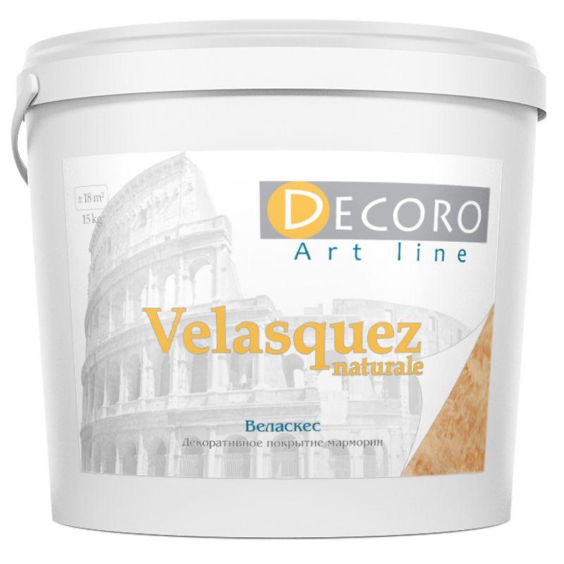 Штукатурка декоративная известковая Decoro Velasquez naturale