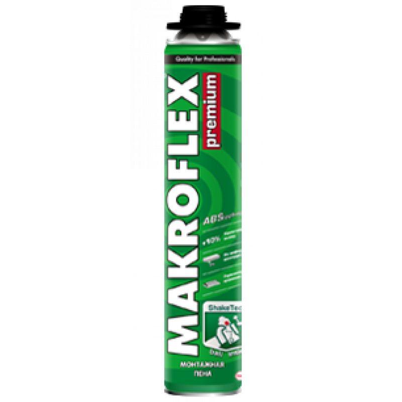 Купить со скидкой Пена монтажная Makroflex Premium профессиональная, 870 мл