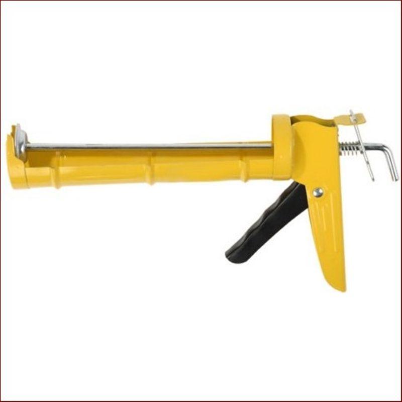 Пистолет для герметика полукорпусной, гладкий шток, 310мл фото