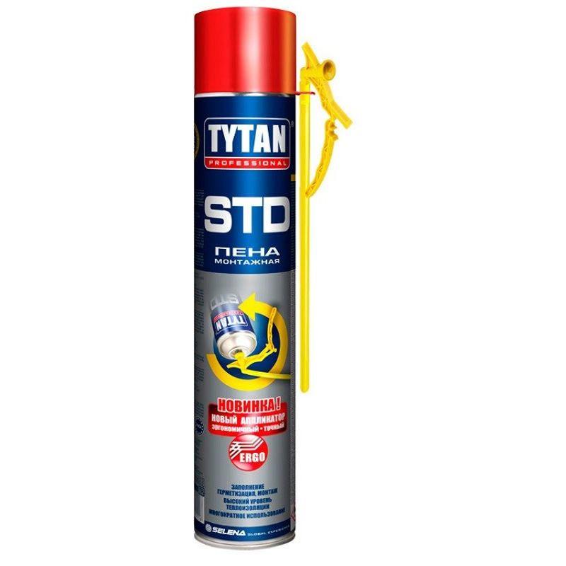 Купить со скидкой Пена монтажная Tytan O2 ERGO бытовая, 750 мл