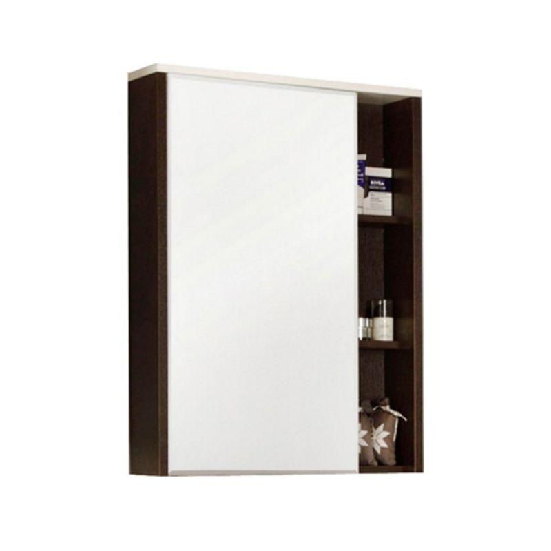 Купить Зеркальный-шкаф Акватон Крит 60 венге (1A163202KT500), Россия