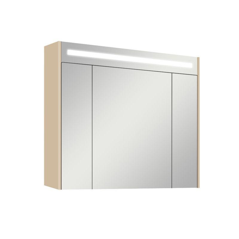 Купить Зеркальный-шкаф Акватон Мадрид 80 М со светильником (1A175202MA010), Россия