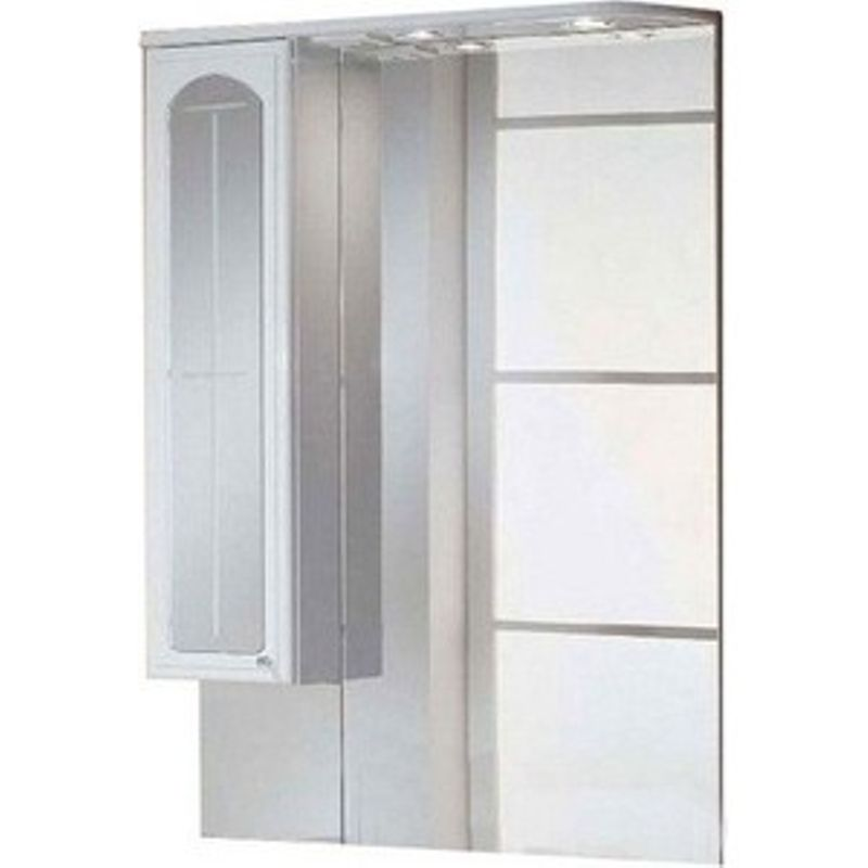 Купить Зеркальный-шкаф Акватон Эмилья 75 левый (1A011202EJ01L), Россия