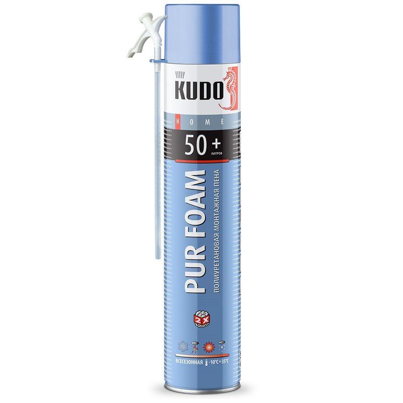 Купить со скидкой Пена монтажная KUDO Home 50, бытовая, всесезонная, 1000 мл