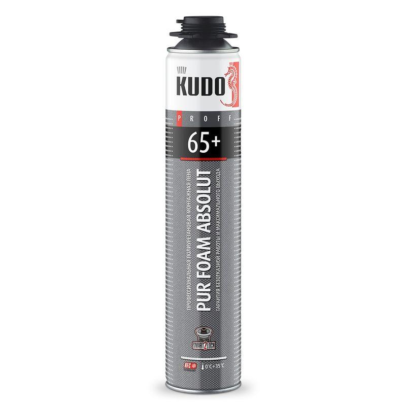 Пена монтажная KUDO Proff 65+, профессиональная, 1000