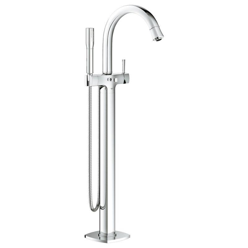 Купить Смеситель для ванны Grohe Grandera 23318000 напольный, Хром, Германия