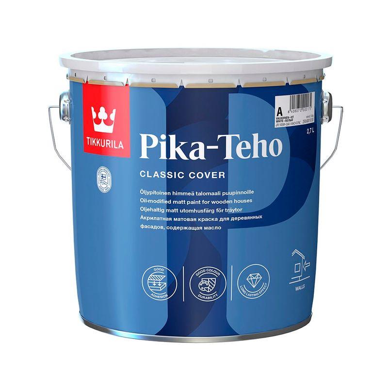 Краска Tikkurila Pika-Teho база А 2.7л фото