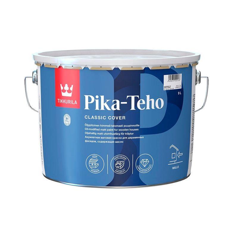 Краска Tikkurila Pika-Teho фасадная база С 9л фото