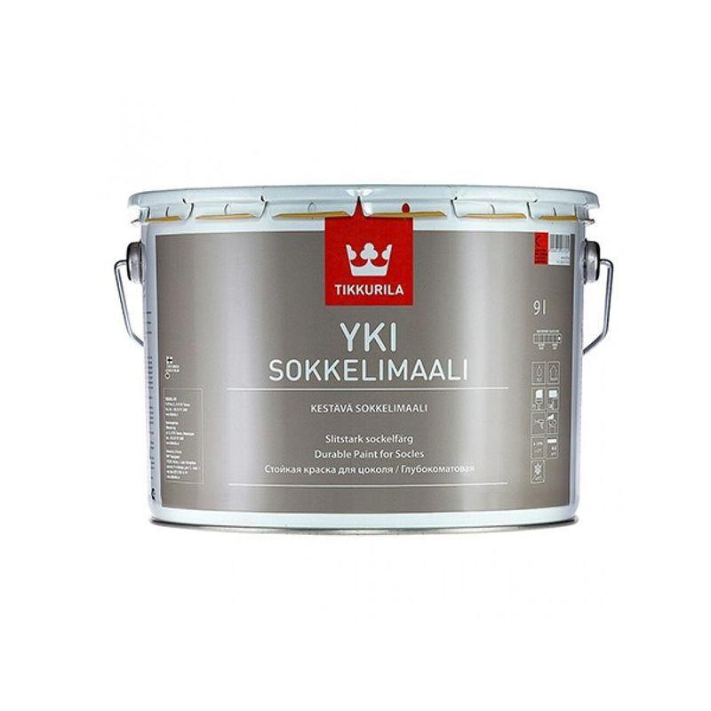 Краска Tikkurila Yki фасадная база C 9л фото