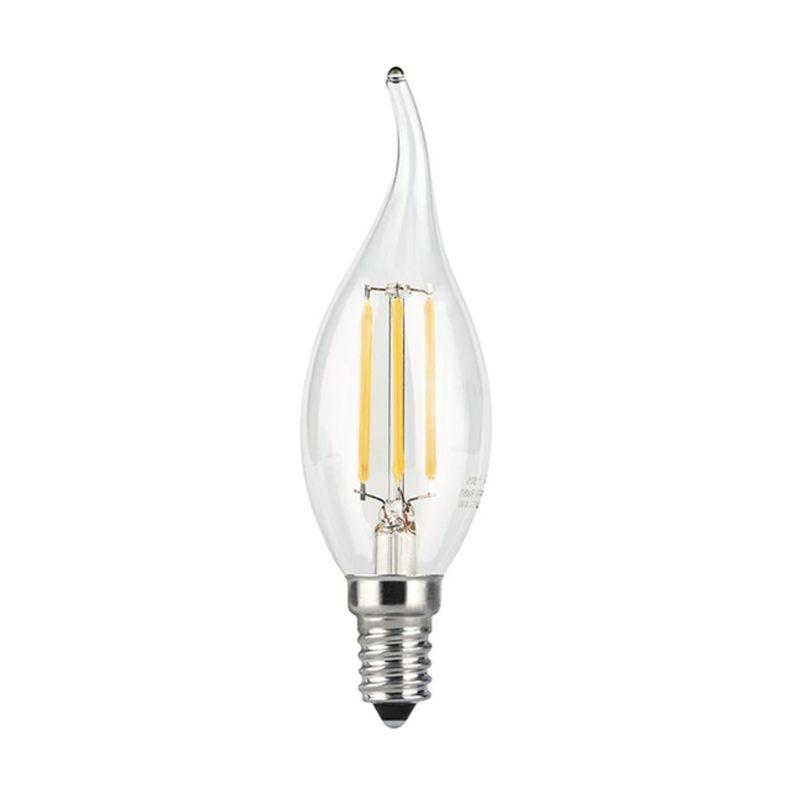 Лампа Gauss LED Filament Candle tailed E14 9W холодный свет 4100K