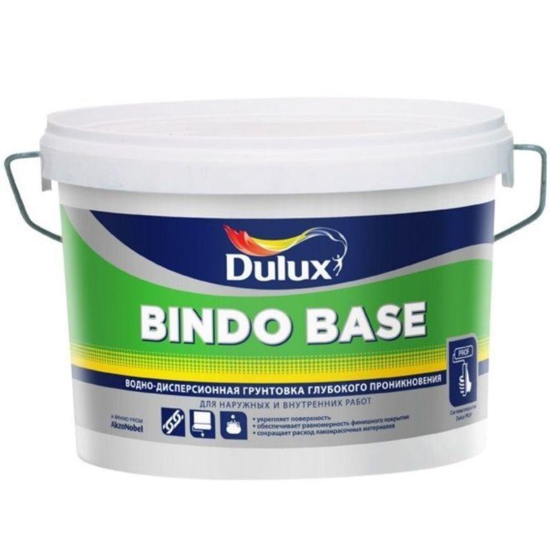 Грунтовка глубокого проникновения Dulux Bindo Base, 10л фото