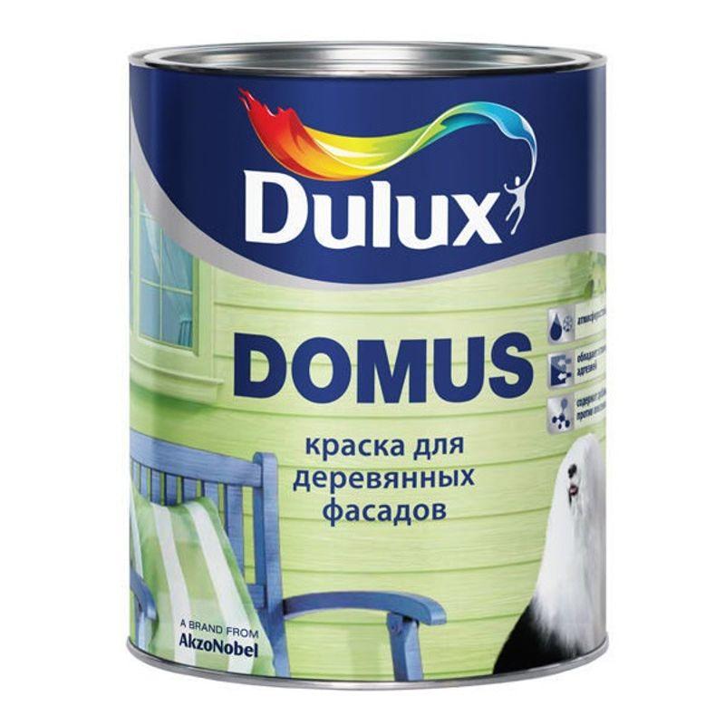 Краска Dulux Domus для деревянных фасадов база BC 9.4л фото